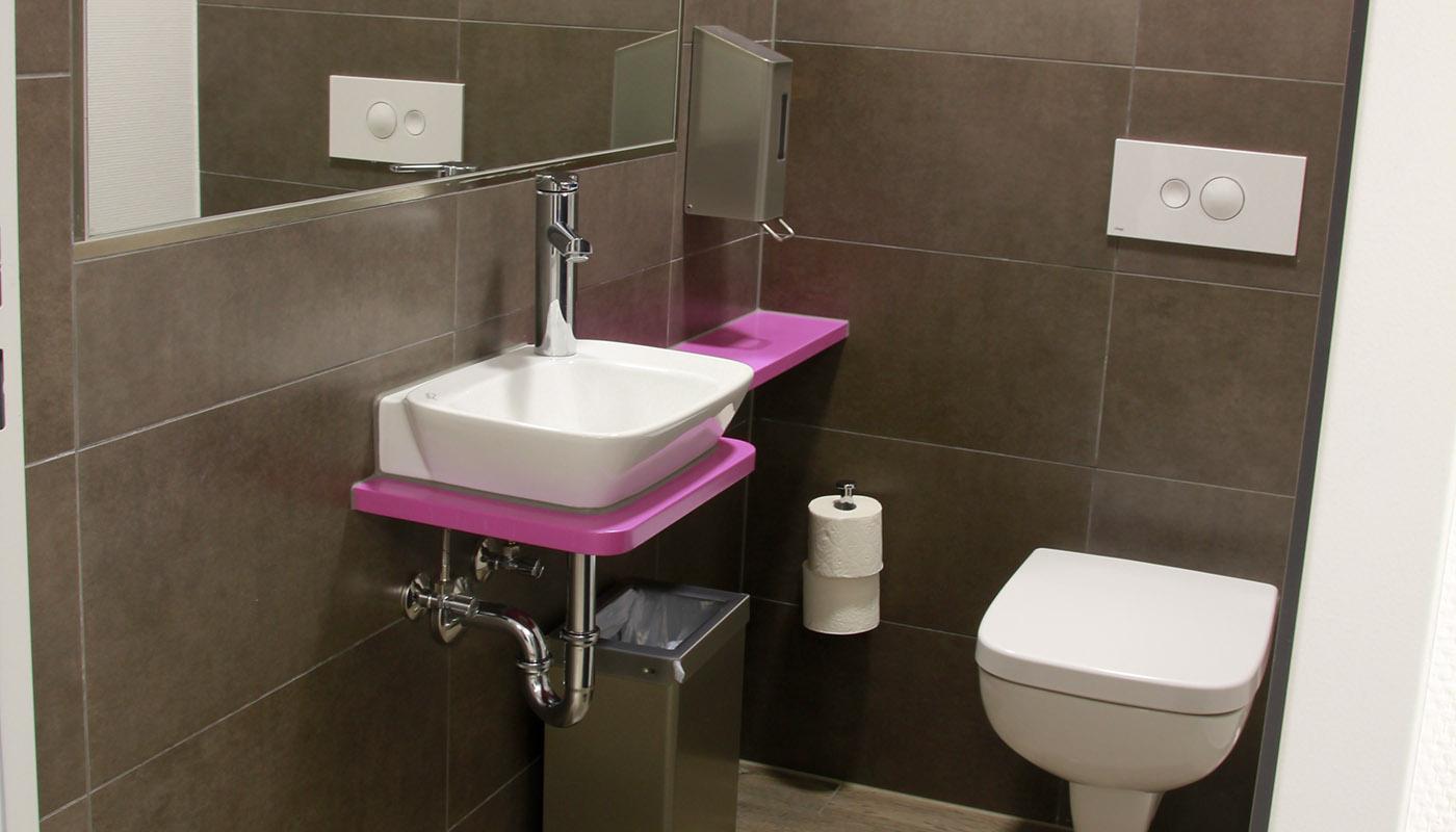 Toilette - Waschtisch